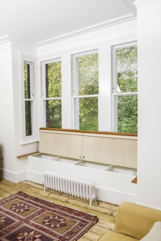 Window Seat + Storage